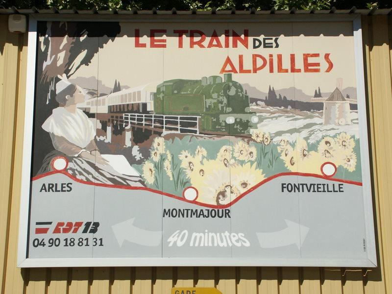 Train des Alpilles