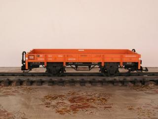 Plat à essieux orange 45010